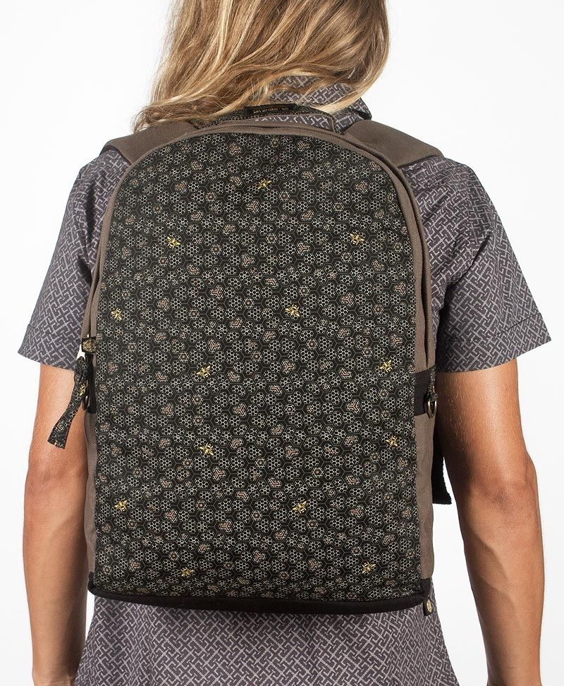 Bees Backpack- Round
