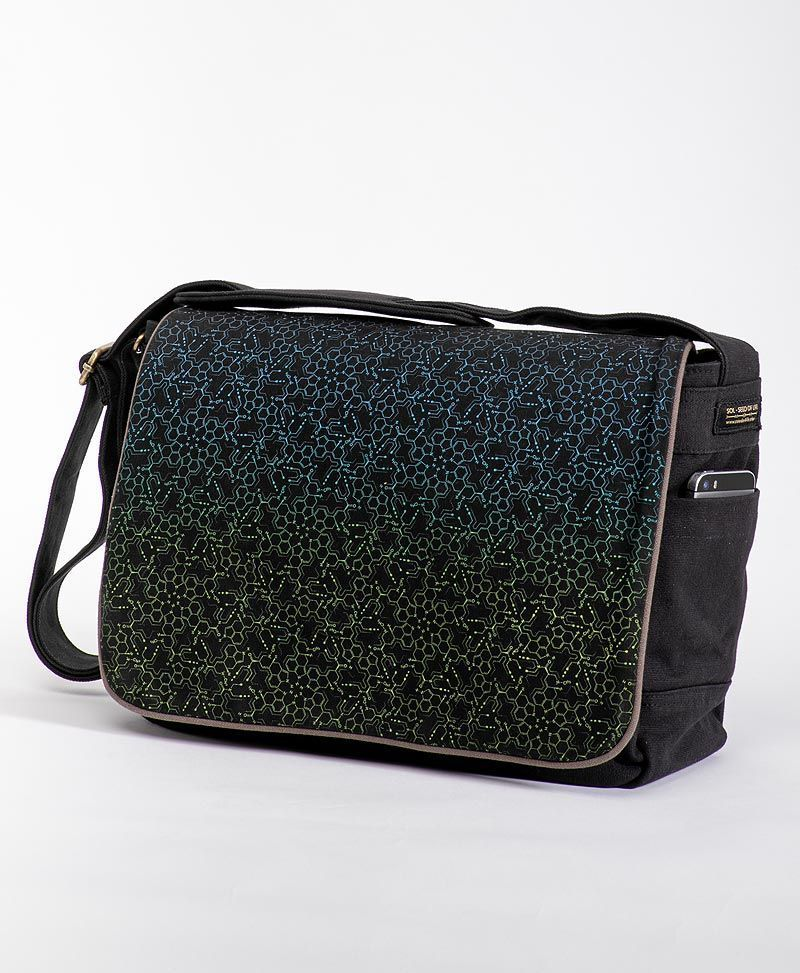 LSD Molecule Messenger Bag