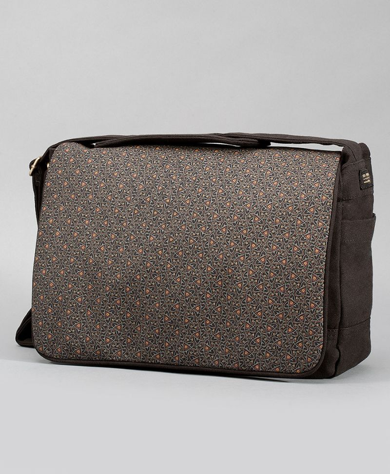 Atomic Messenger Bag | Black