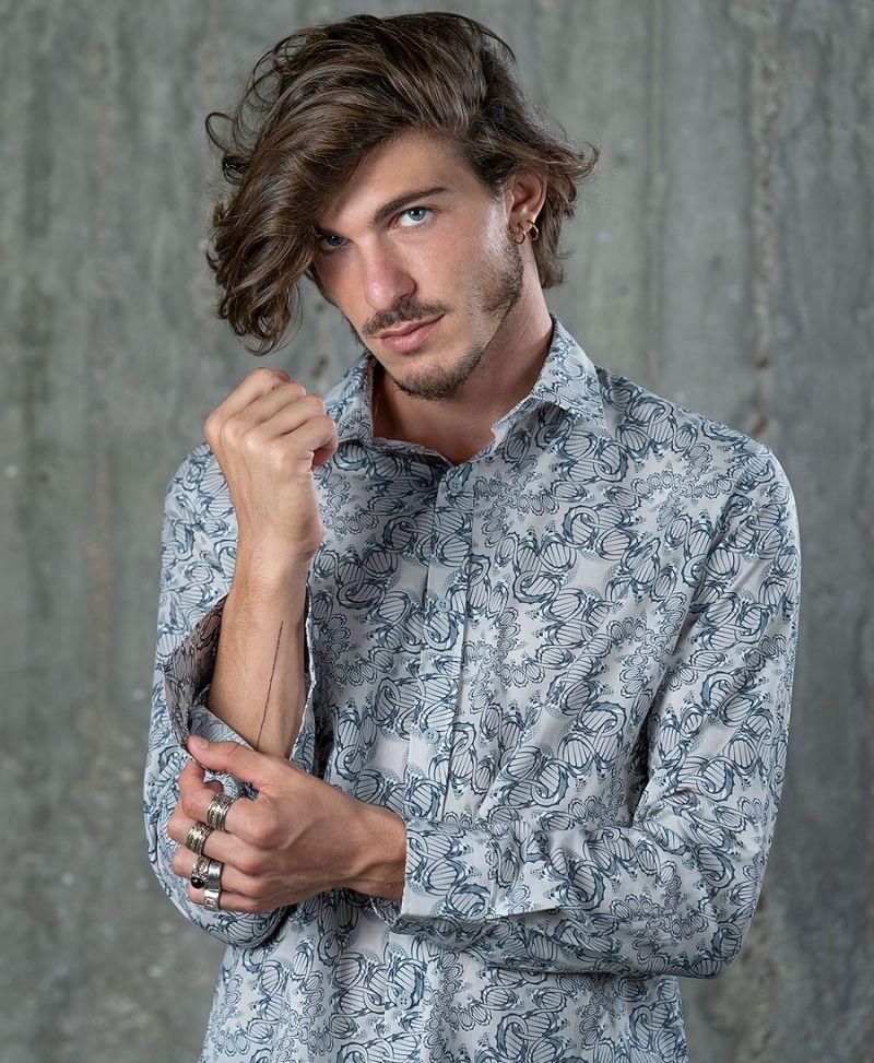 DNA Button Shirt- Long Sleeve