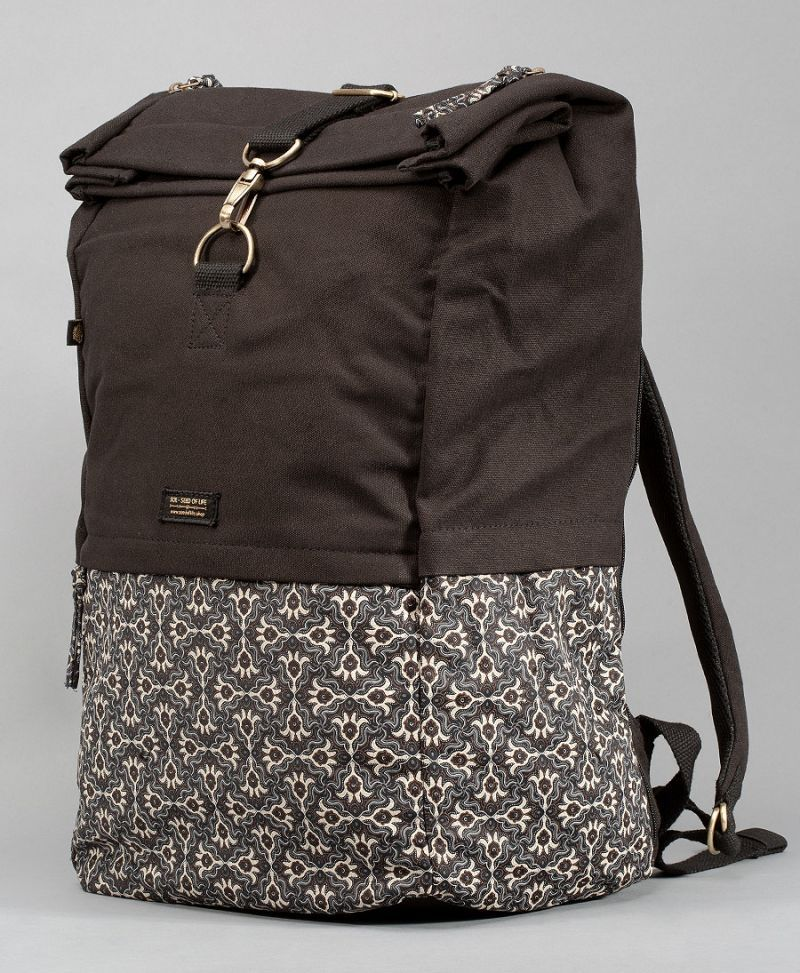 Hamsa Roll-Top Backpack 45L