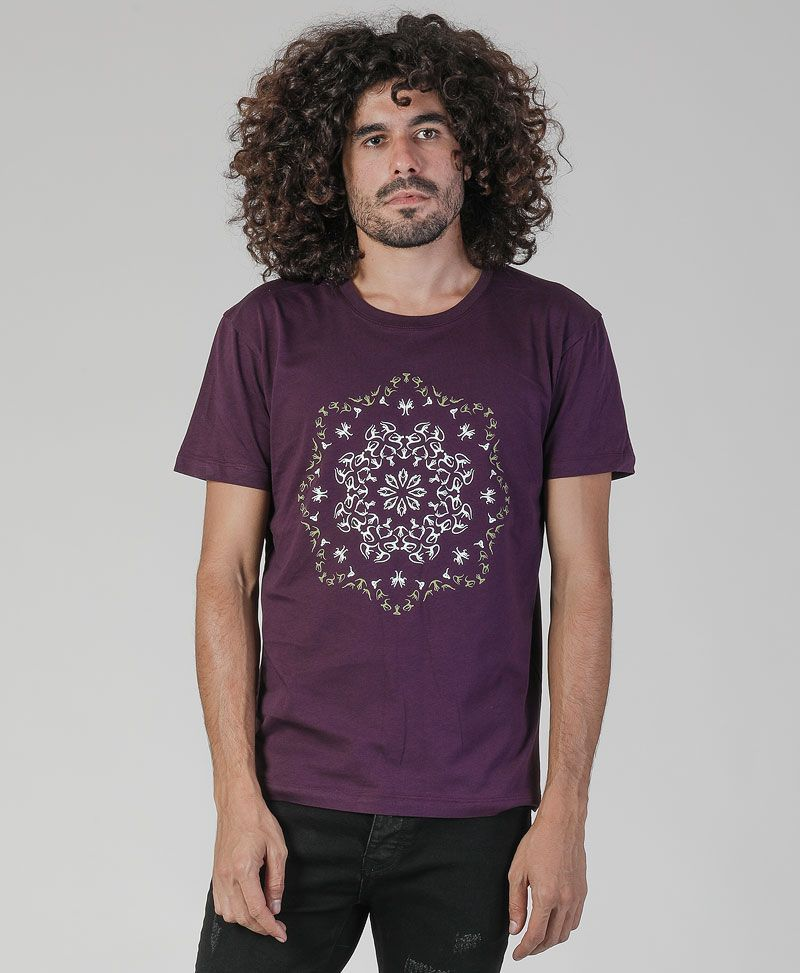 Lotusika T-shirt ➟ Purple