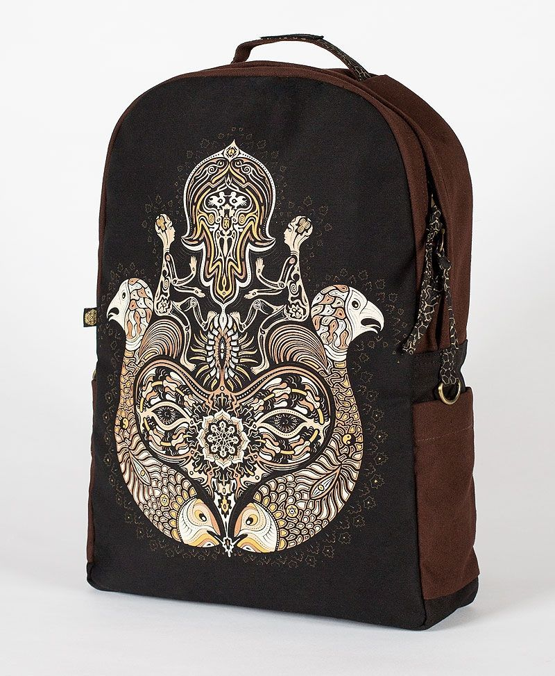Hamsa Backpack- Round