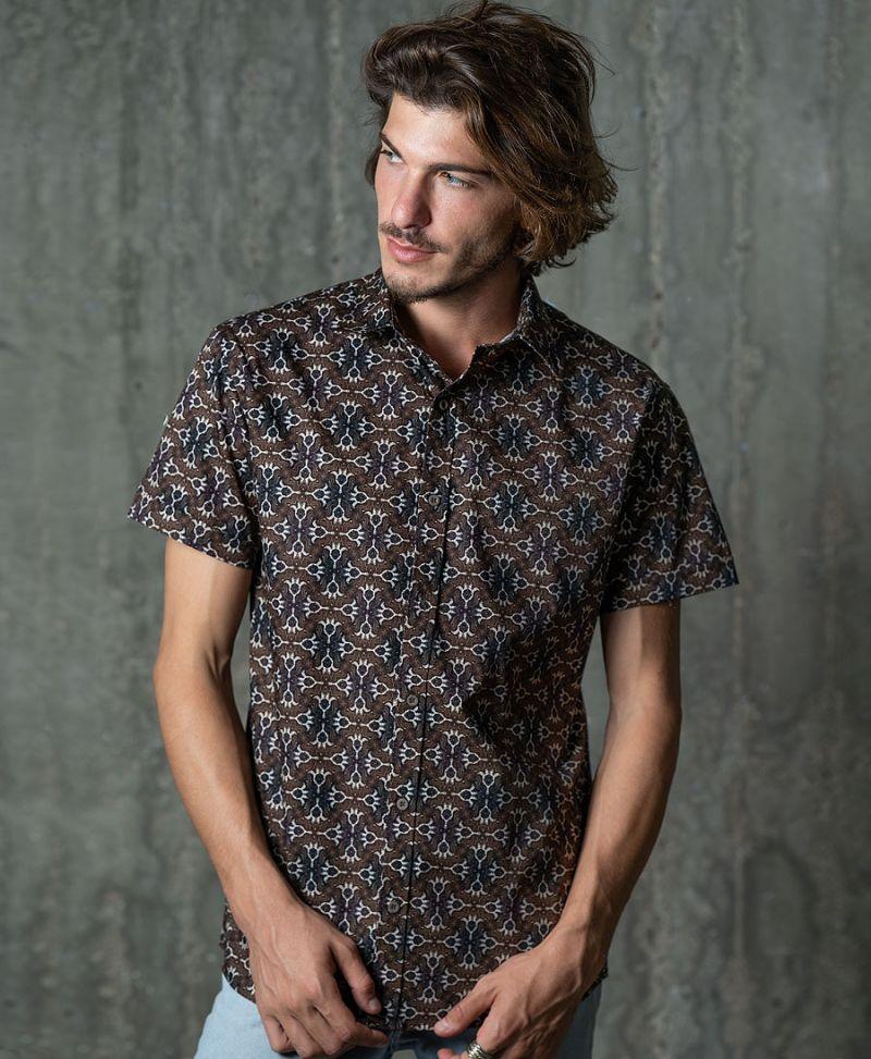 Hamsa Button Shirt
