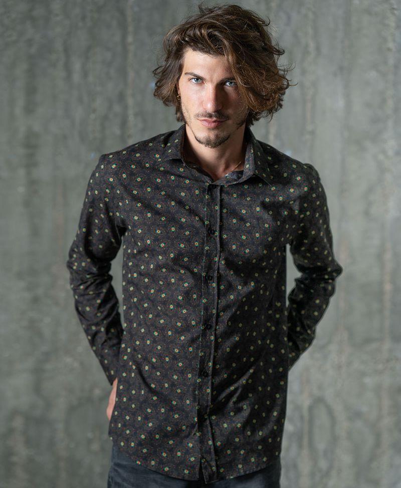 Eyesee Button Shirt- Long Sleeve