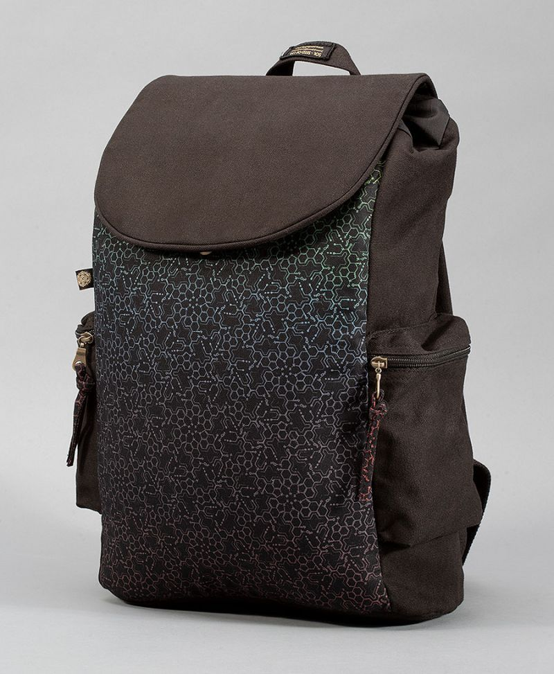 LSD Molecule Backpack- Black