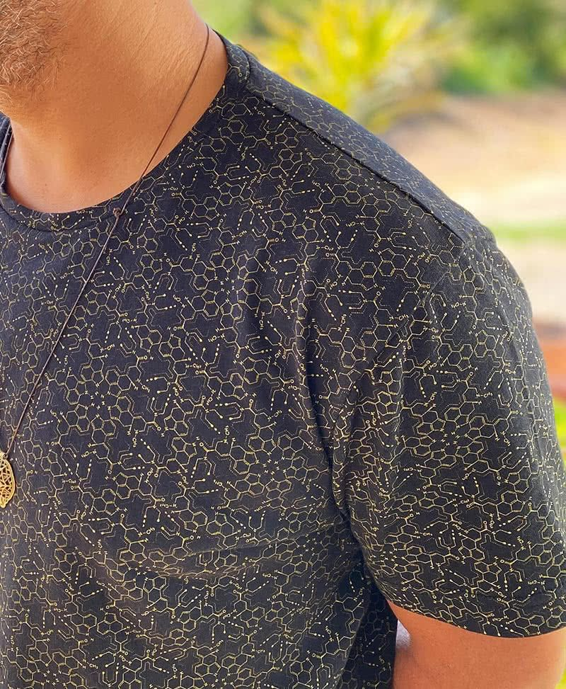 LSD Molecule T-shirt ➟ Black