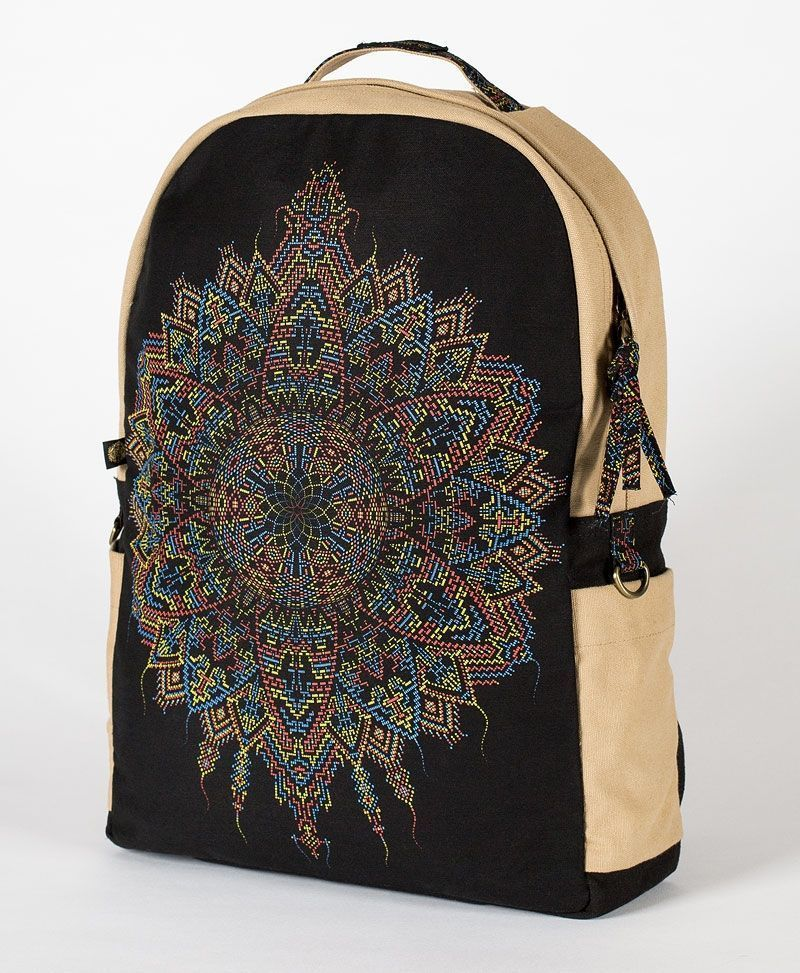 Mexica Backpack - Round