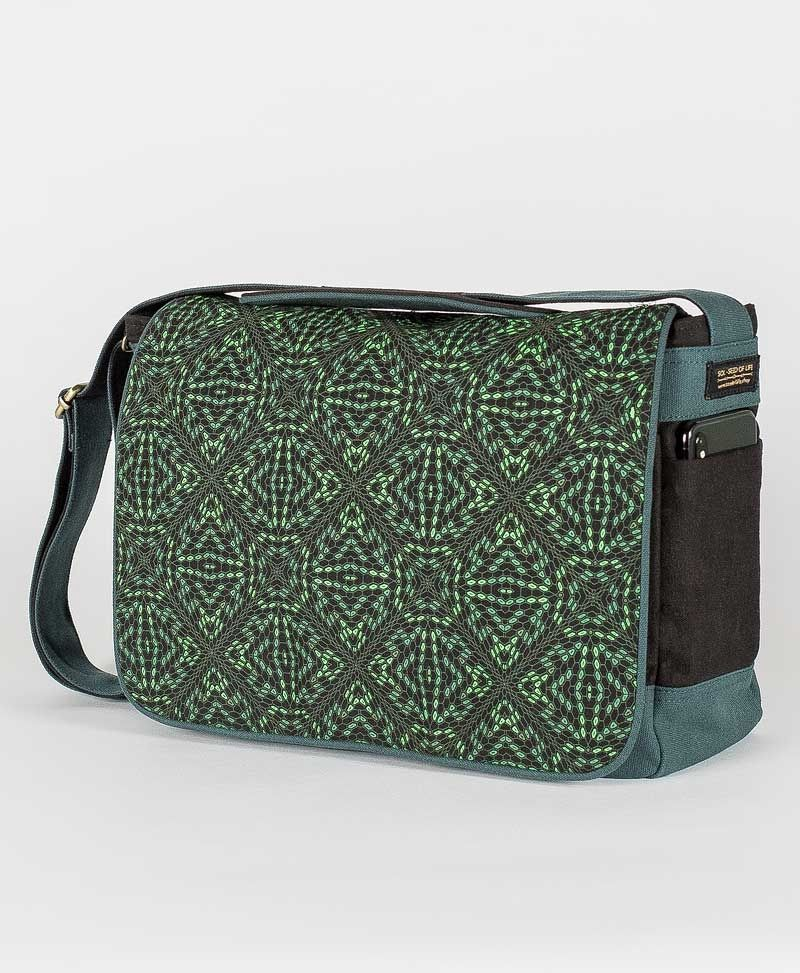 Hexit Messenger Bag | Green