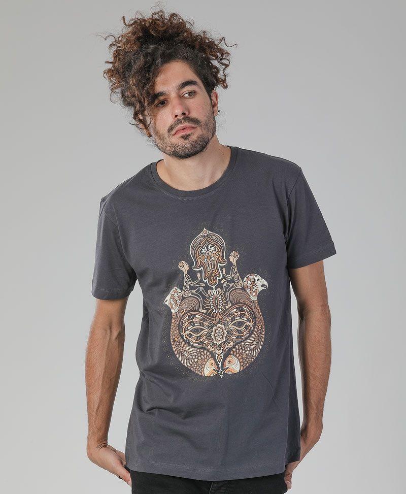 Hamsa T-shirt ➟ Grey