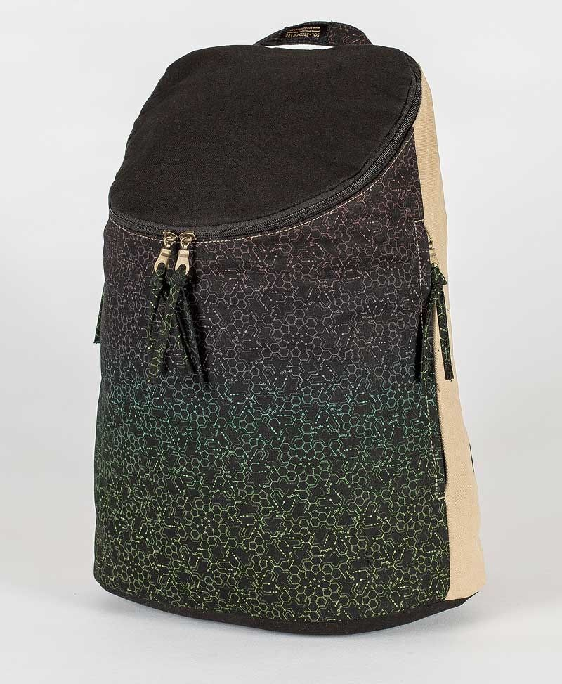 LSD Molecule Wide Top Backpack