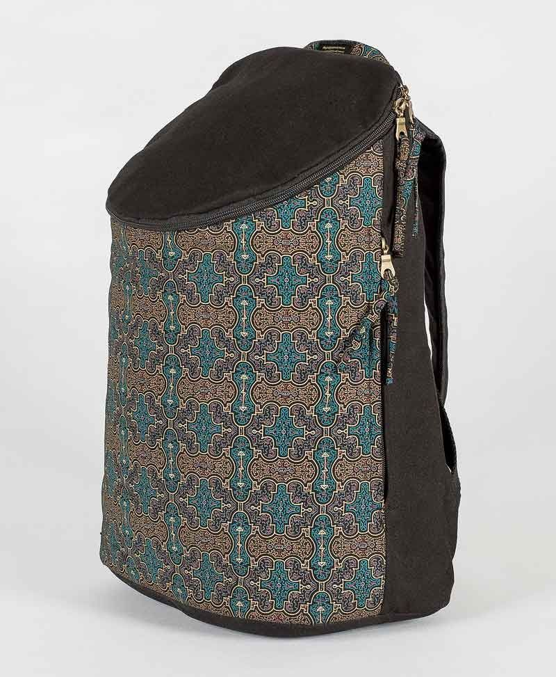 Shipibo Kené Wide Top Backpack