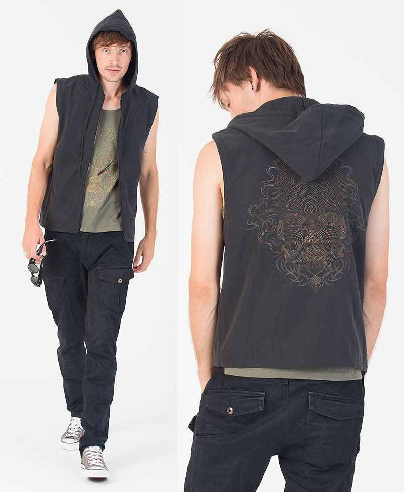 TriMurti Microfiber Vest ➟ Black