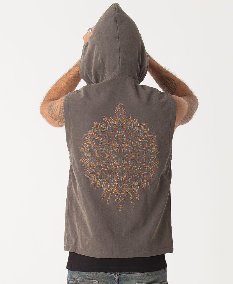 Mexica Microfiber Vest ➟ Olive