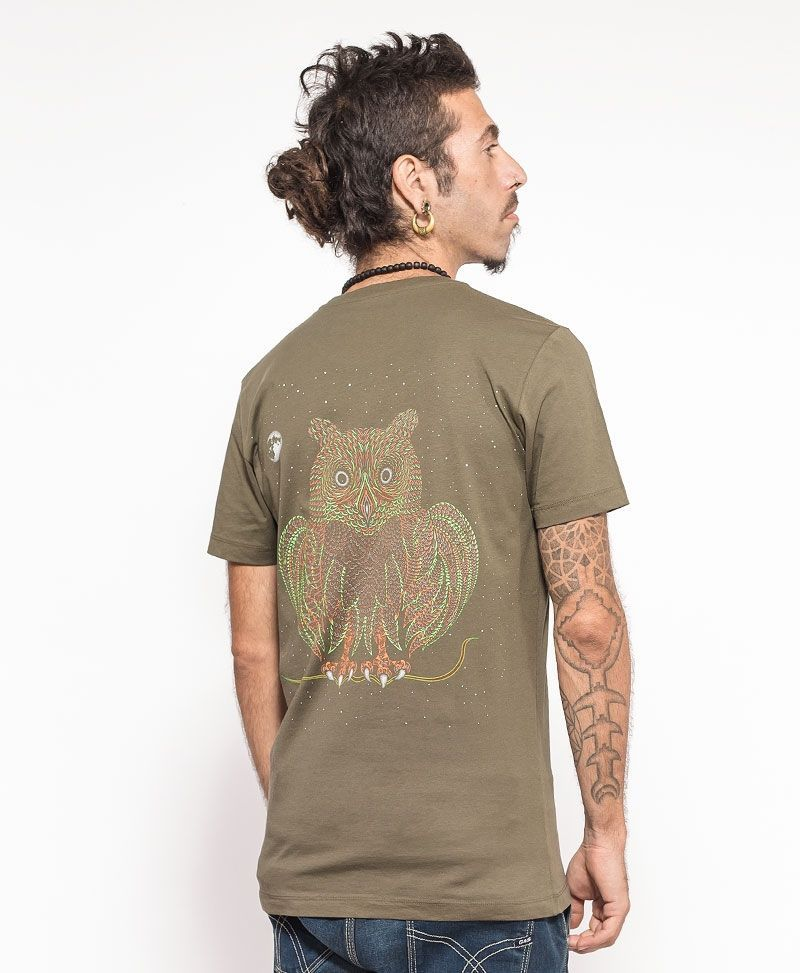 Uhloo T-shirt ➟ Olive