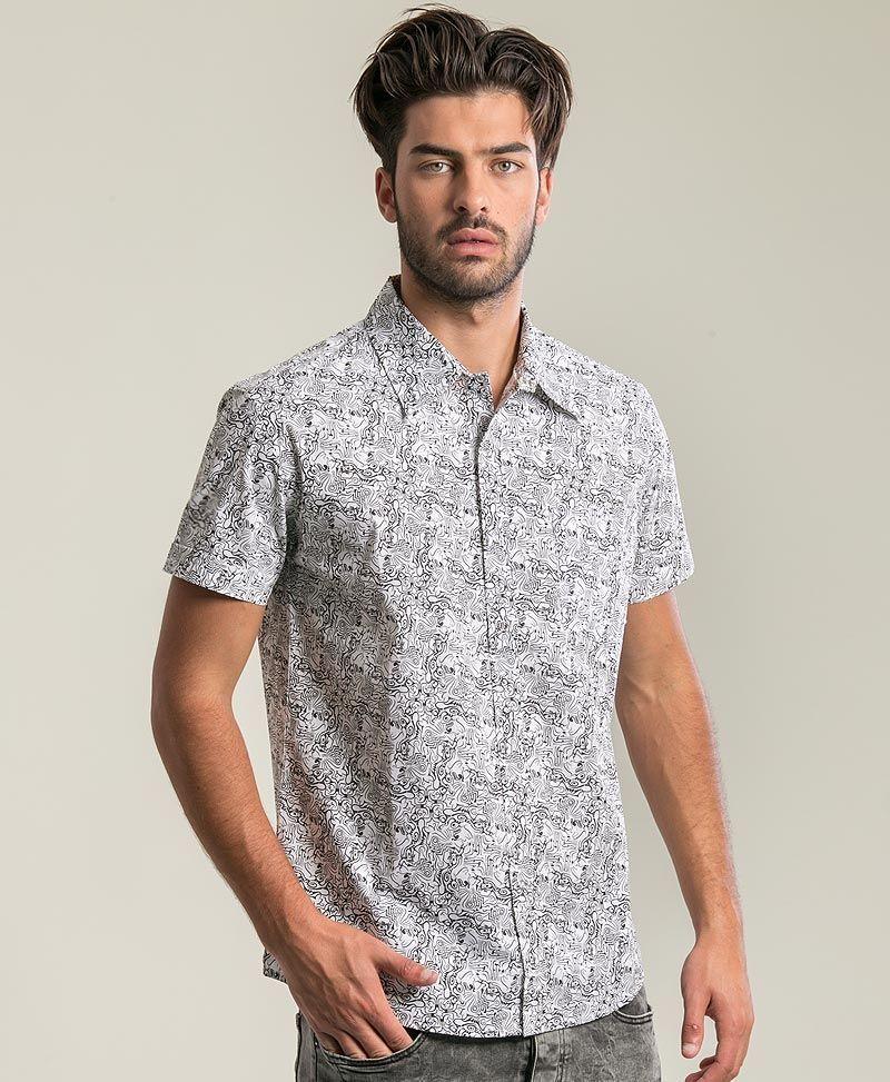 Tails Button Shirt ➟ White