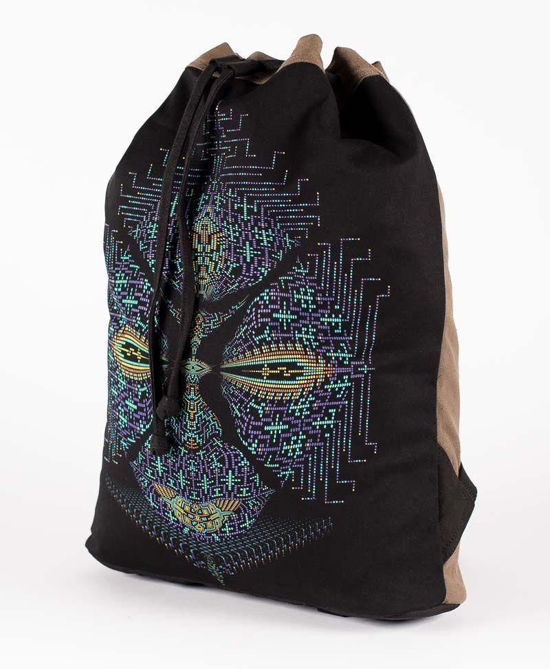 Sikuli  ➟ Padded Straps Drawstring Backpack