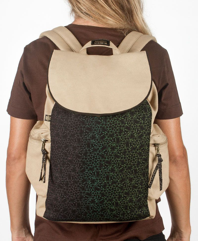 LSD Molecule Backpack- Stone