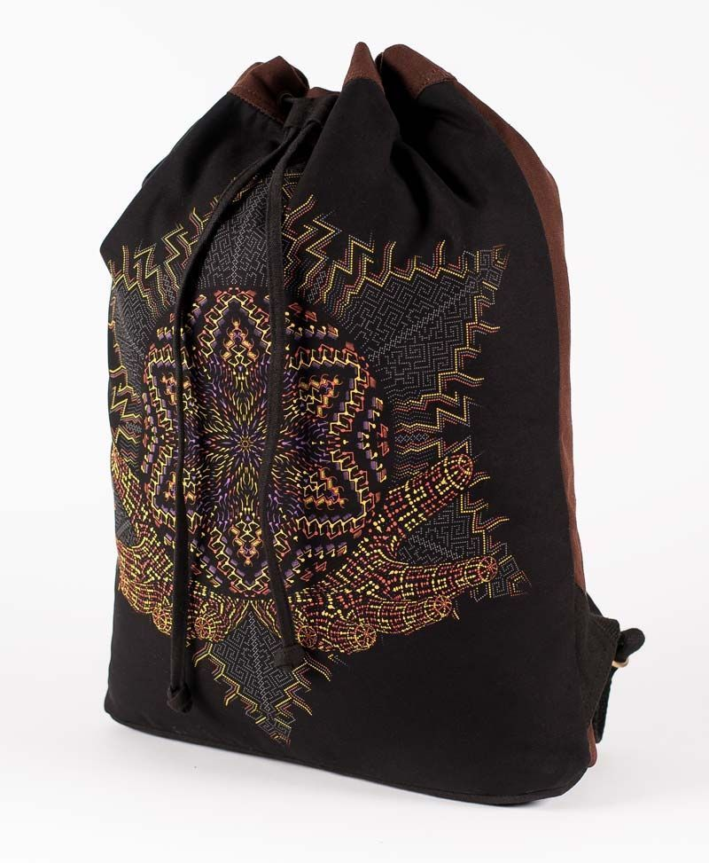Anahata ➟ Padded Straps Drawstring Backpack