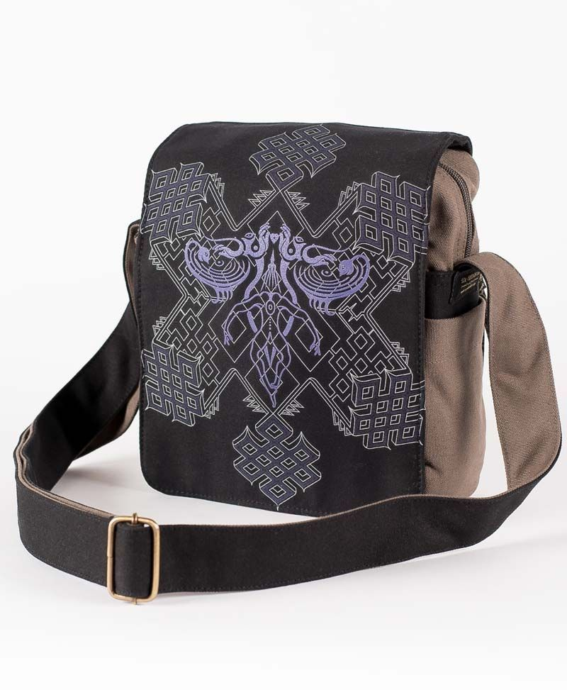 Om On Key CrossBody Bag