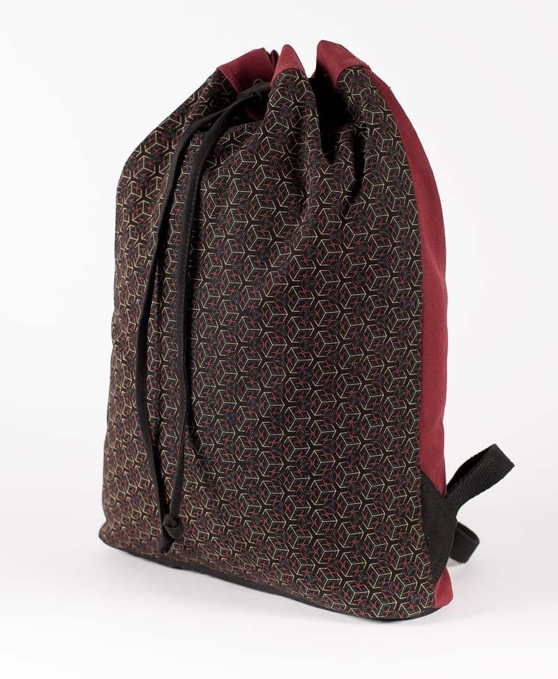 Kubic ➟ Padded Straps Drawstring Backpack