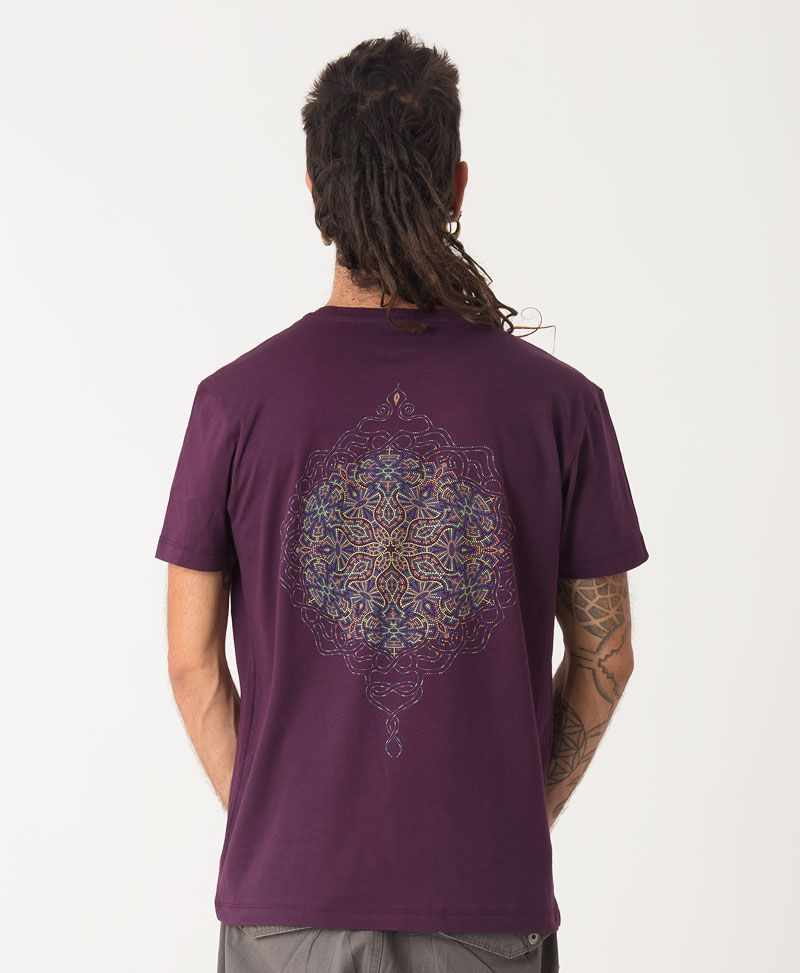 Peyote T-shirt ➟ Purple