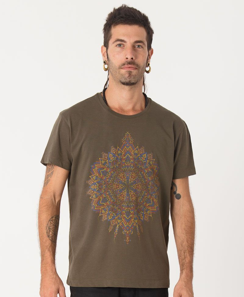 Mexica T-shirt ➟ Olive