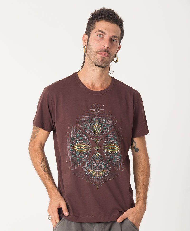 Sikuli T-shirt ➟ Brown
