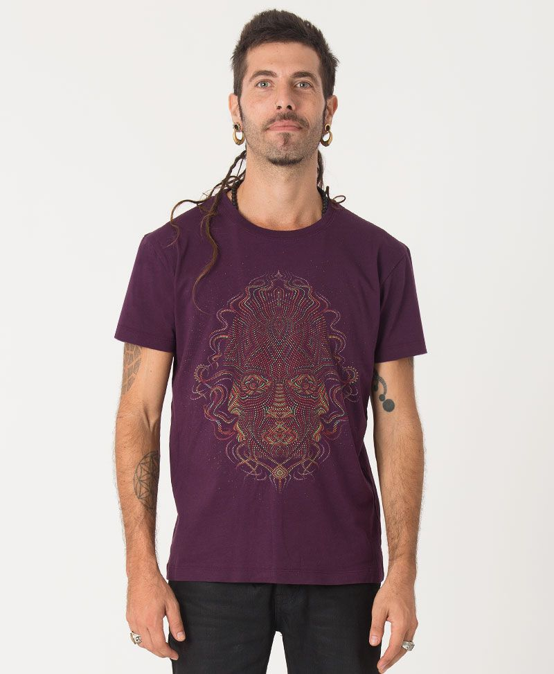 TriMurti T-shirt ➟ Purple