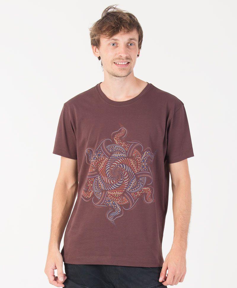 Vortex T-shirt ➟ Brown