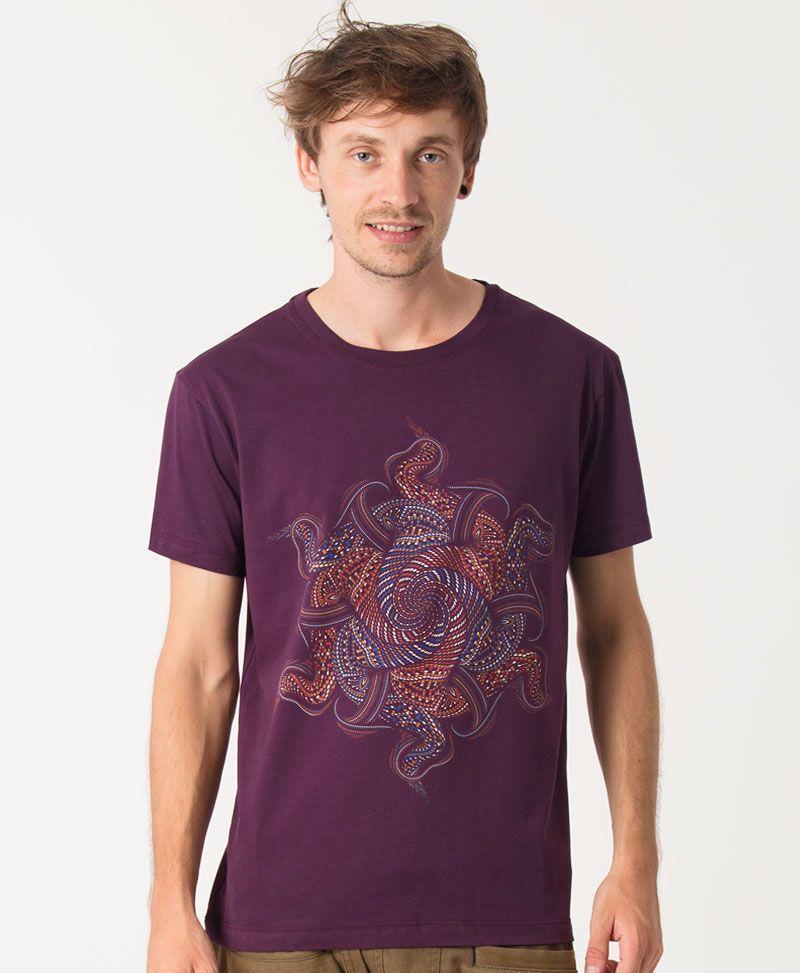 Vortex T-shirt ➟ Purple