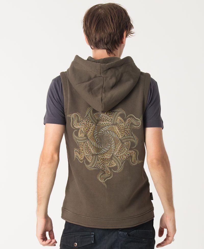 Vortex Hooded Vest  ➟ Olive