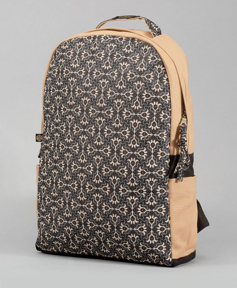 Hamsa Backpack- Round (Full-Print)
