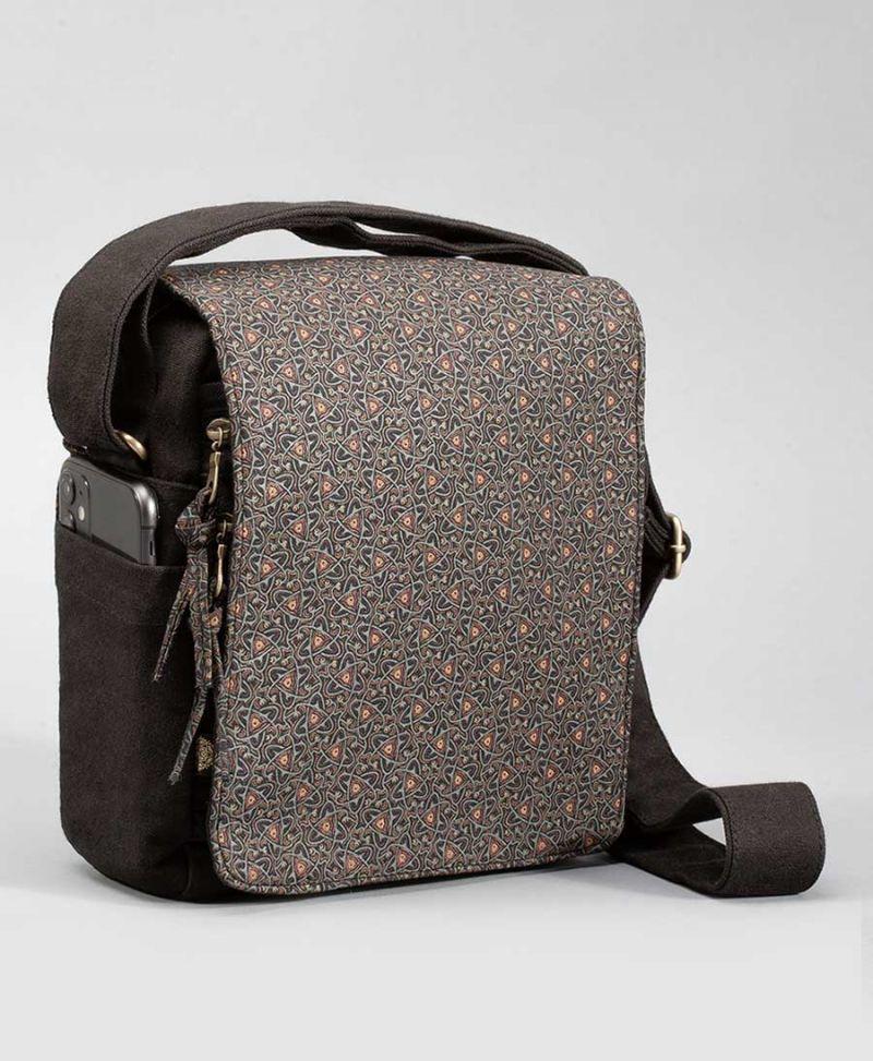 Atom Molecule crossbody bag unisex over the shoulder canvas bags