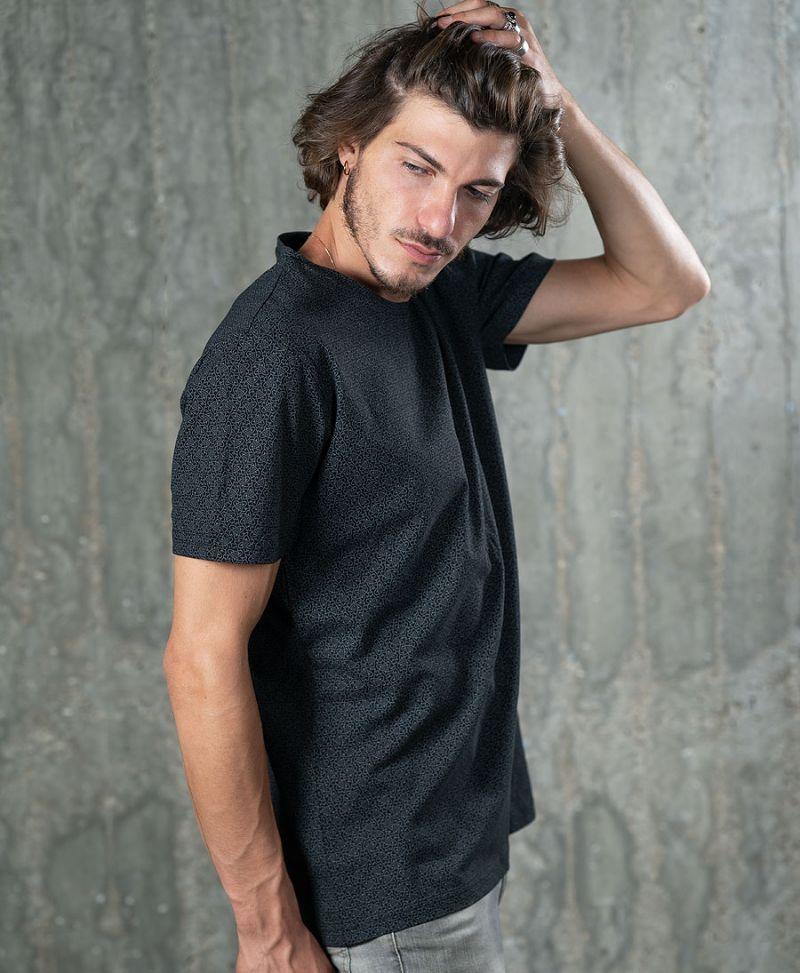atom molecule men t shirt full print black