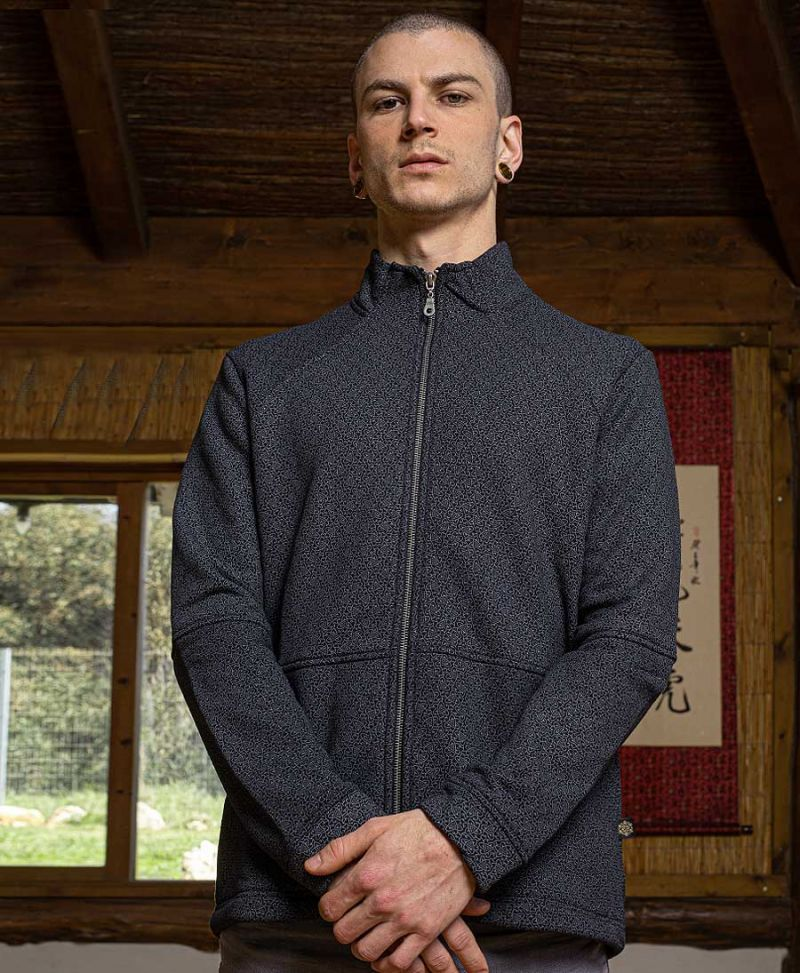 atom molecule men zip up jacket urban streetwear