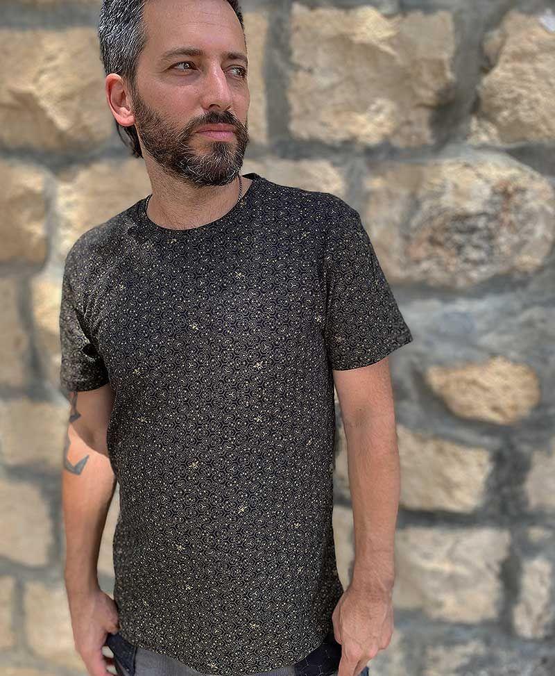 bee hive men t-shirt full print