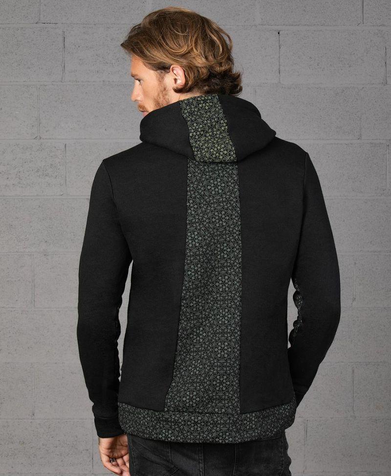marijuana weed print pullover hoodie sweatshirt