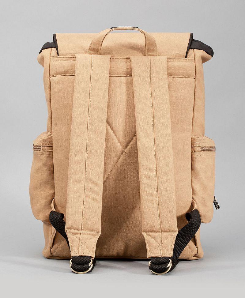 women backpack canvas laptop bag tribal print