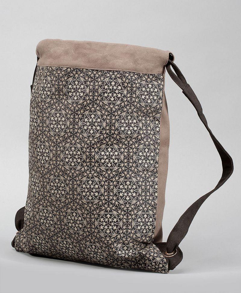 psychedelic backpack drawstring sack bag trippy gift