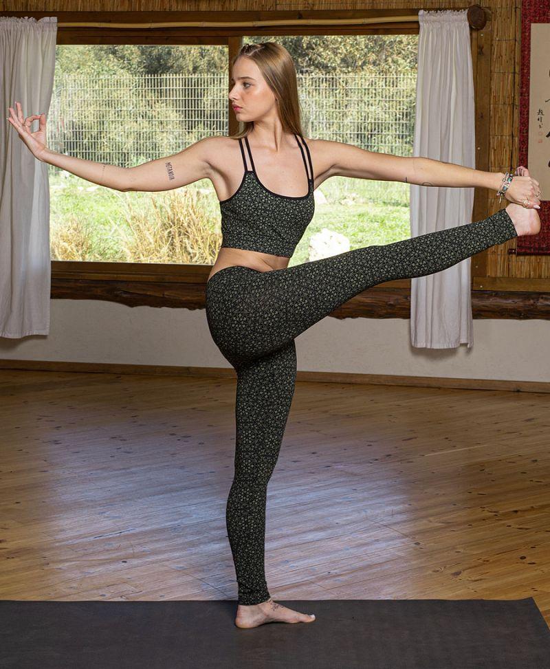 long yoga leggings cotton tights women activewear