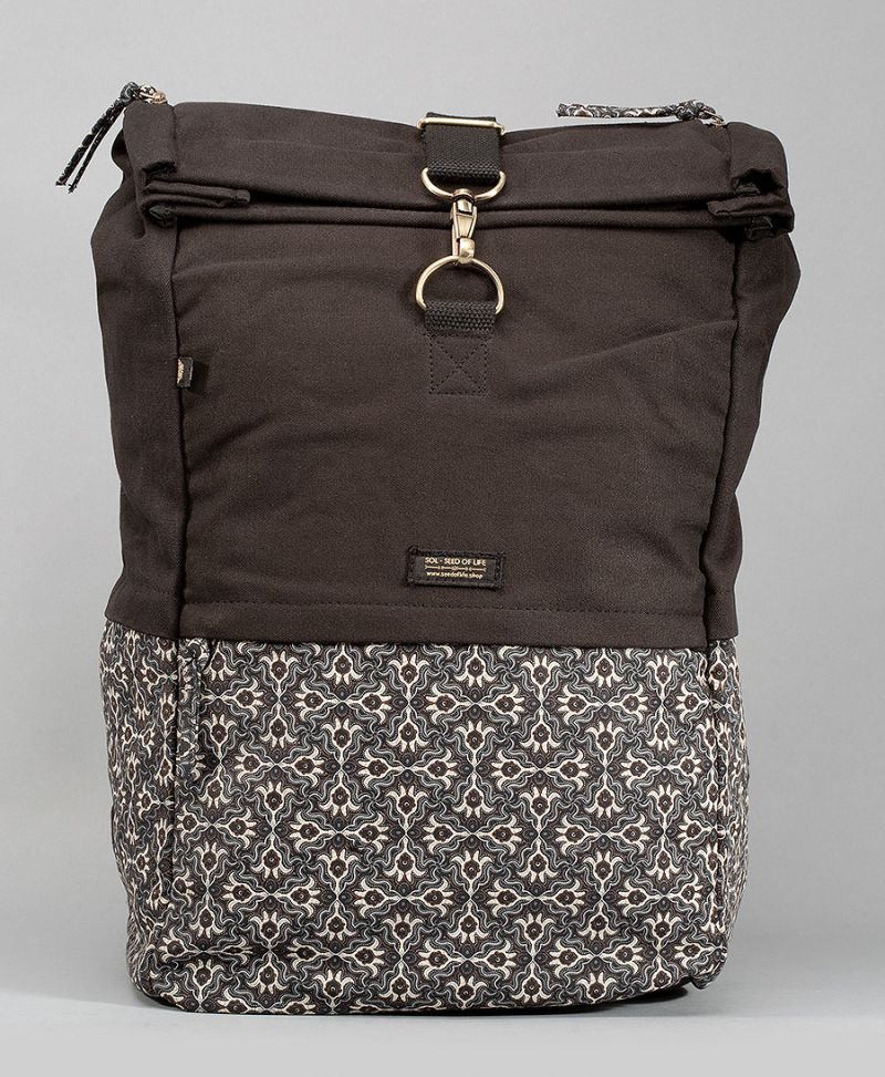extra large travel backpack roll top laptop bag