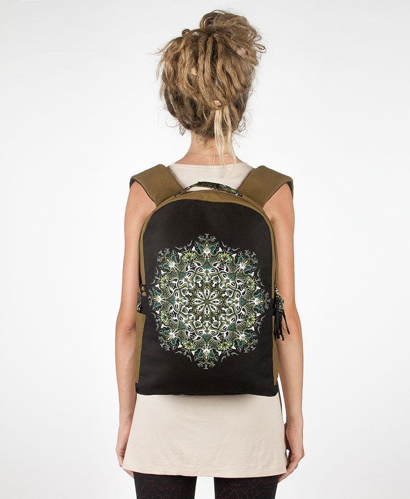 festival-mandala-backpack-round -canvas-laptop-bag-tribal-11