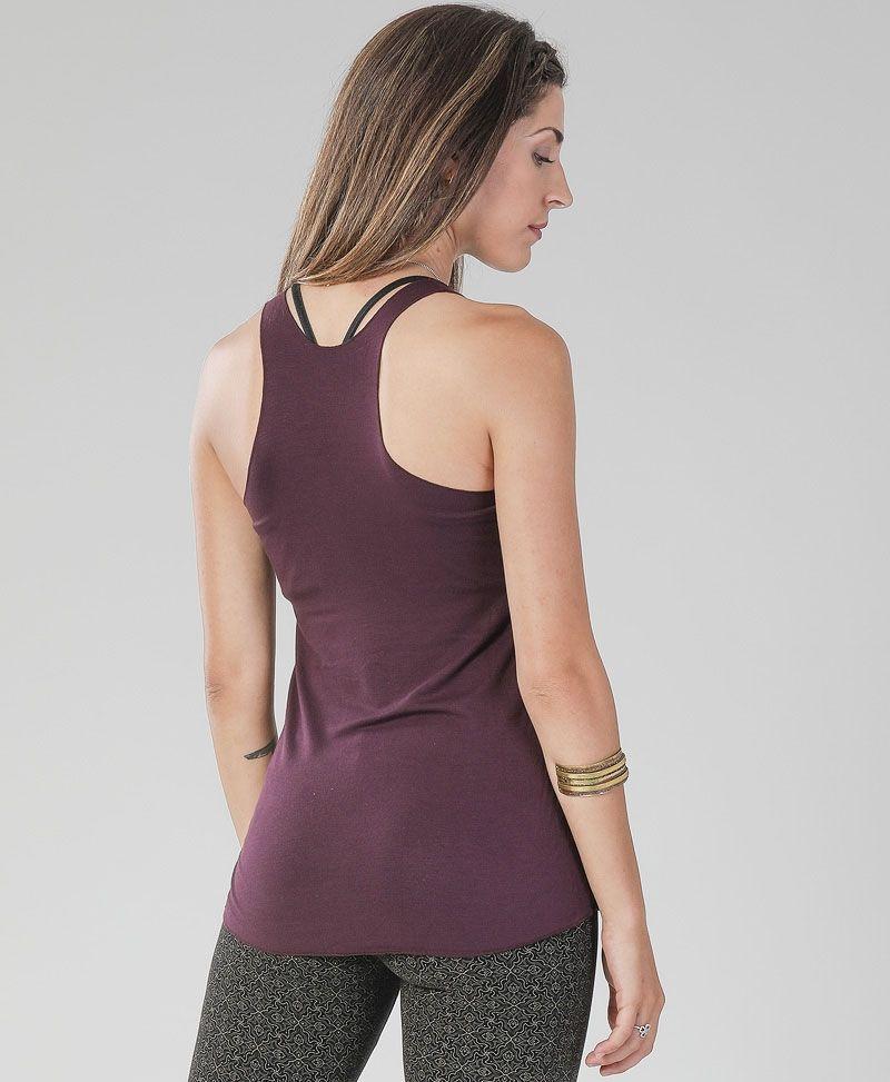hamsa-tank-top-purple-racerback-cotton-yoga-wear
