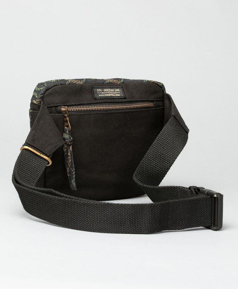 women pouch belt hip pack tribal print vegan
