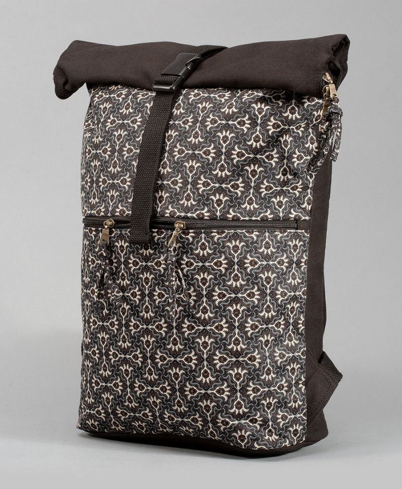 Hamsa Roll-Top Backpack