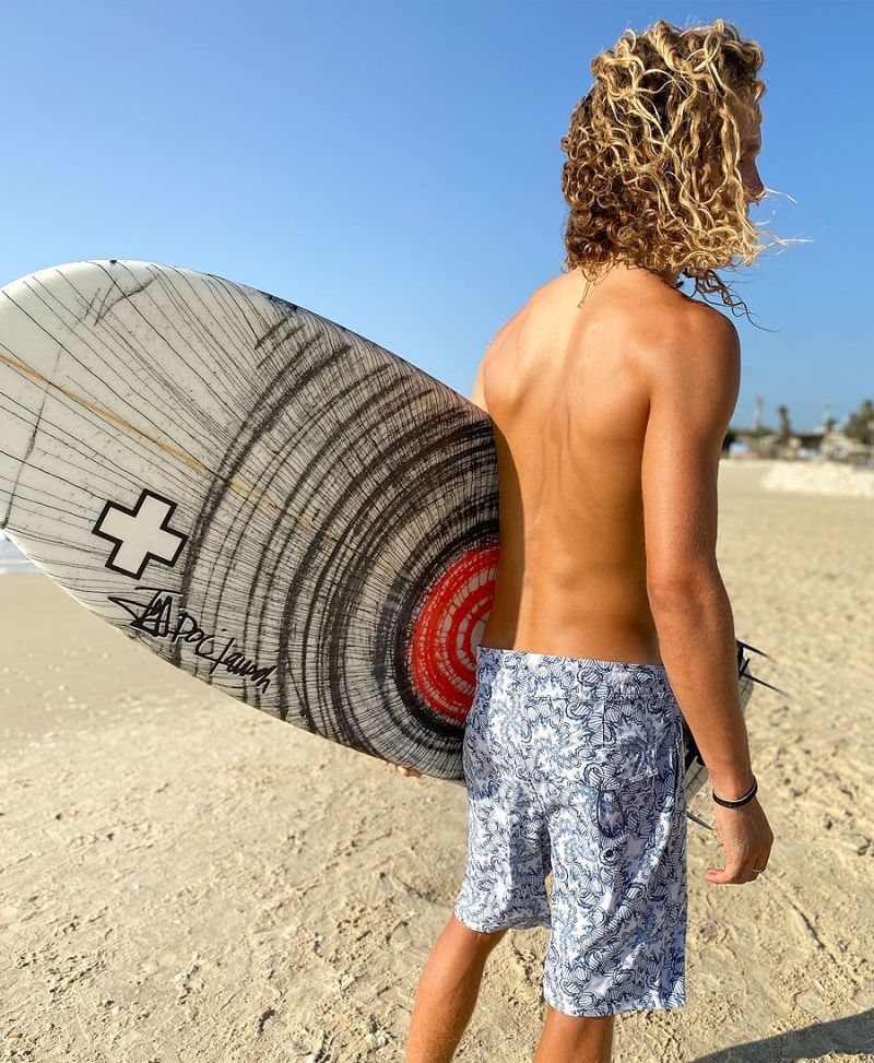 Dna molecule men boardshorts swim trunks
