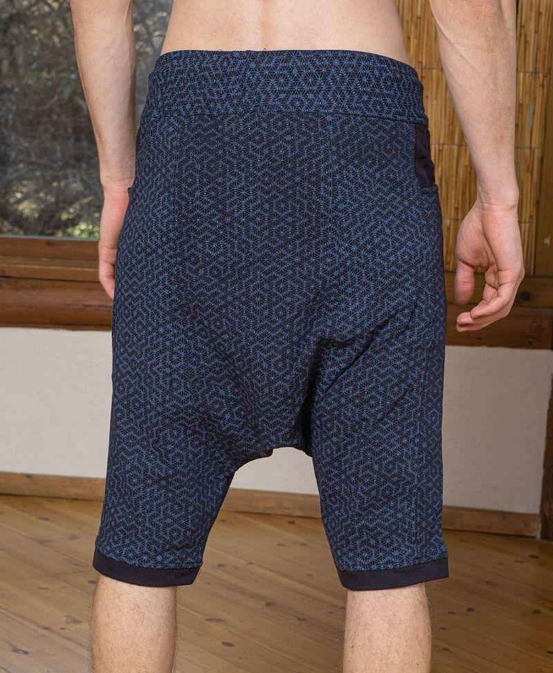 sacred geometry men shorts pants yoga activewear seed of life
