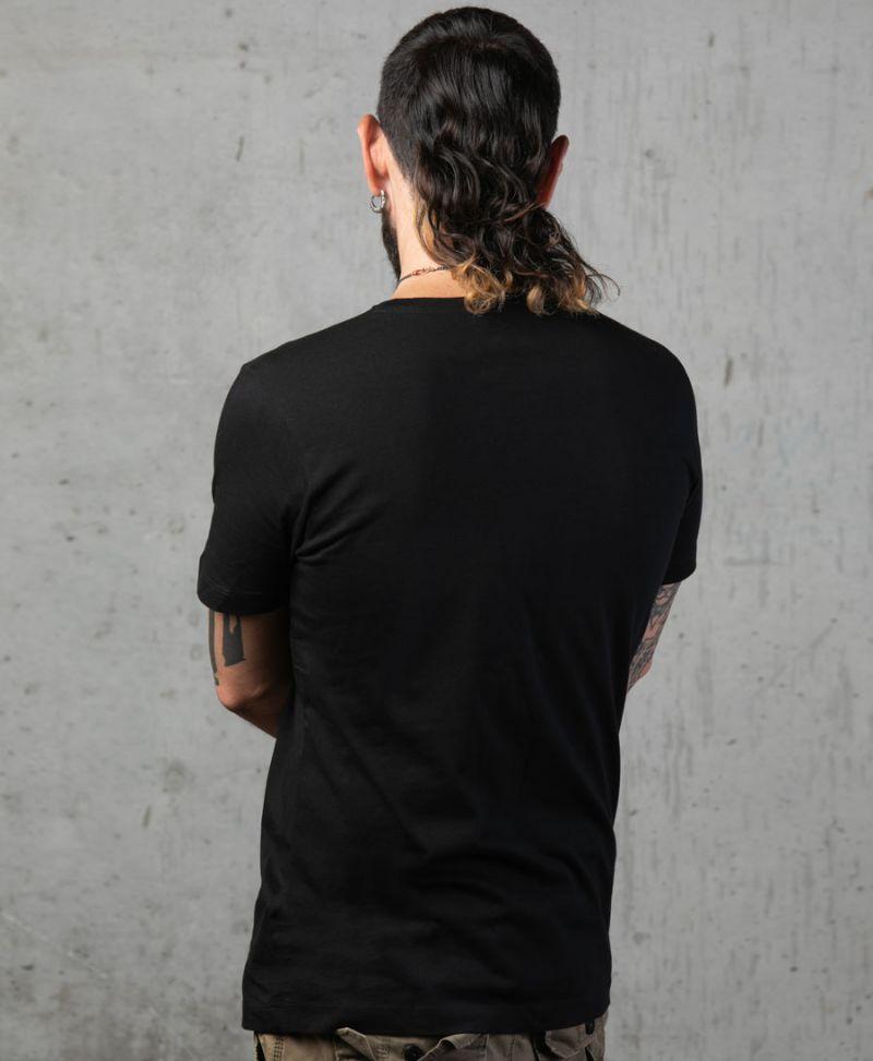 Psychedelic Shirt For Men Black Tshirt Mandala Print