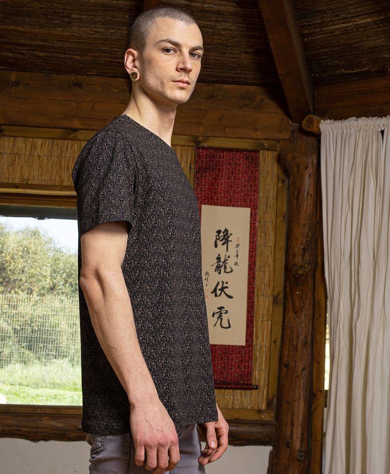 men t shirt full print tee urban streetwear
